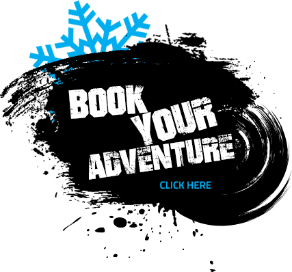 Book your adventure winter button