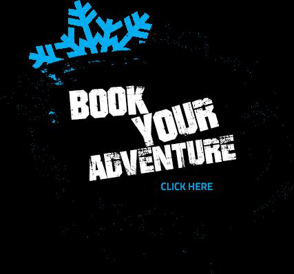 Book your adventure winter button