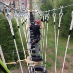 high ropes tire challenge