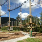 ropes course is fun for groups