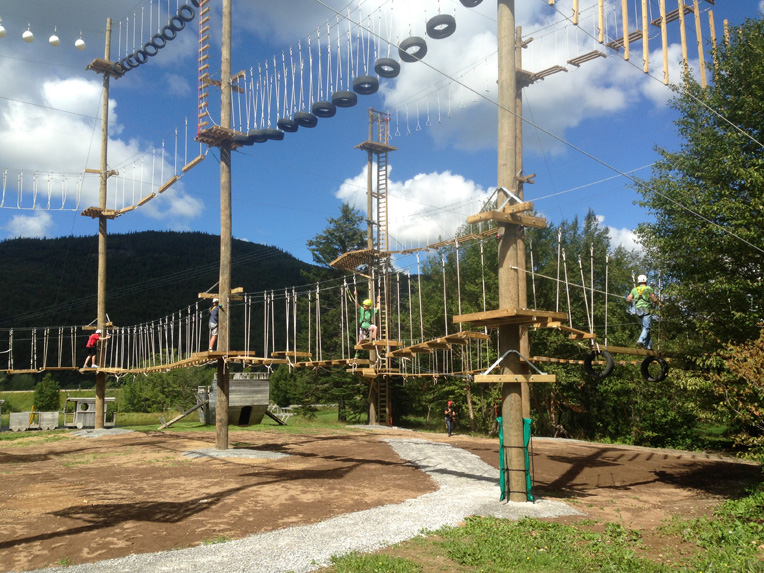 Spider Challenge High Ropes Course Marble Zip Tours
