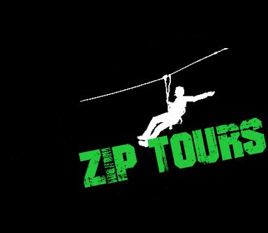 zip lining summer logo