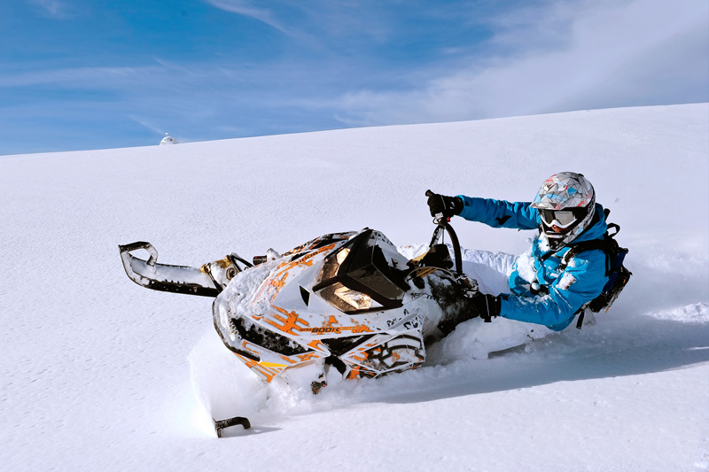 High Mountain Snowmobile Tours