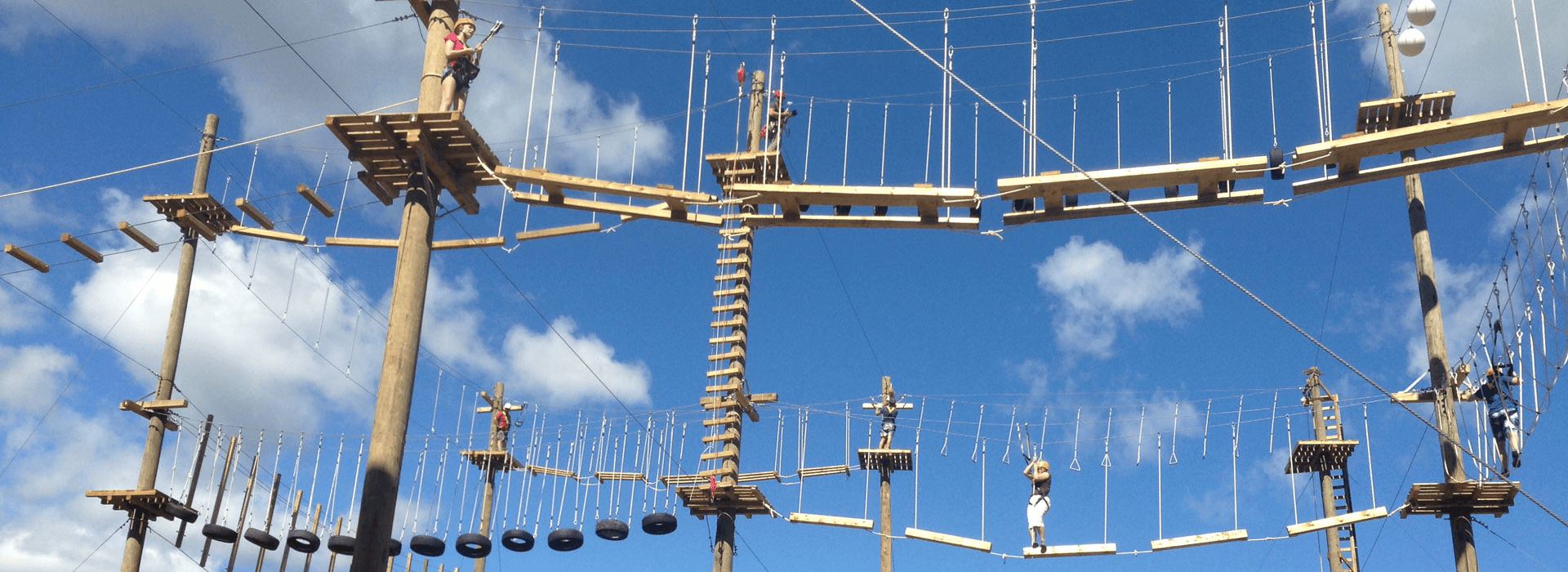 High Ropes Courses Stepping Out Of Your Comfort Zone