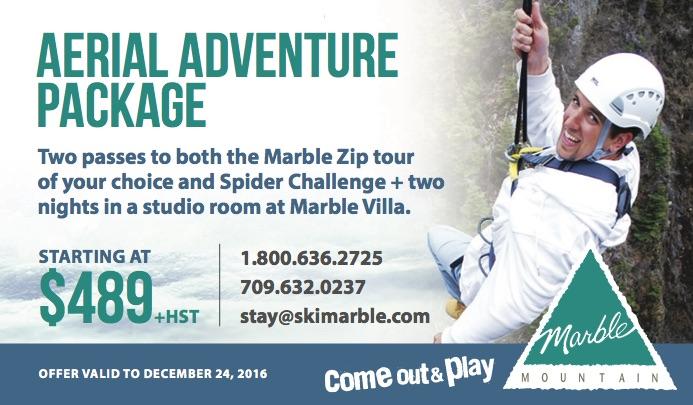 aerial adventure ad